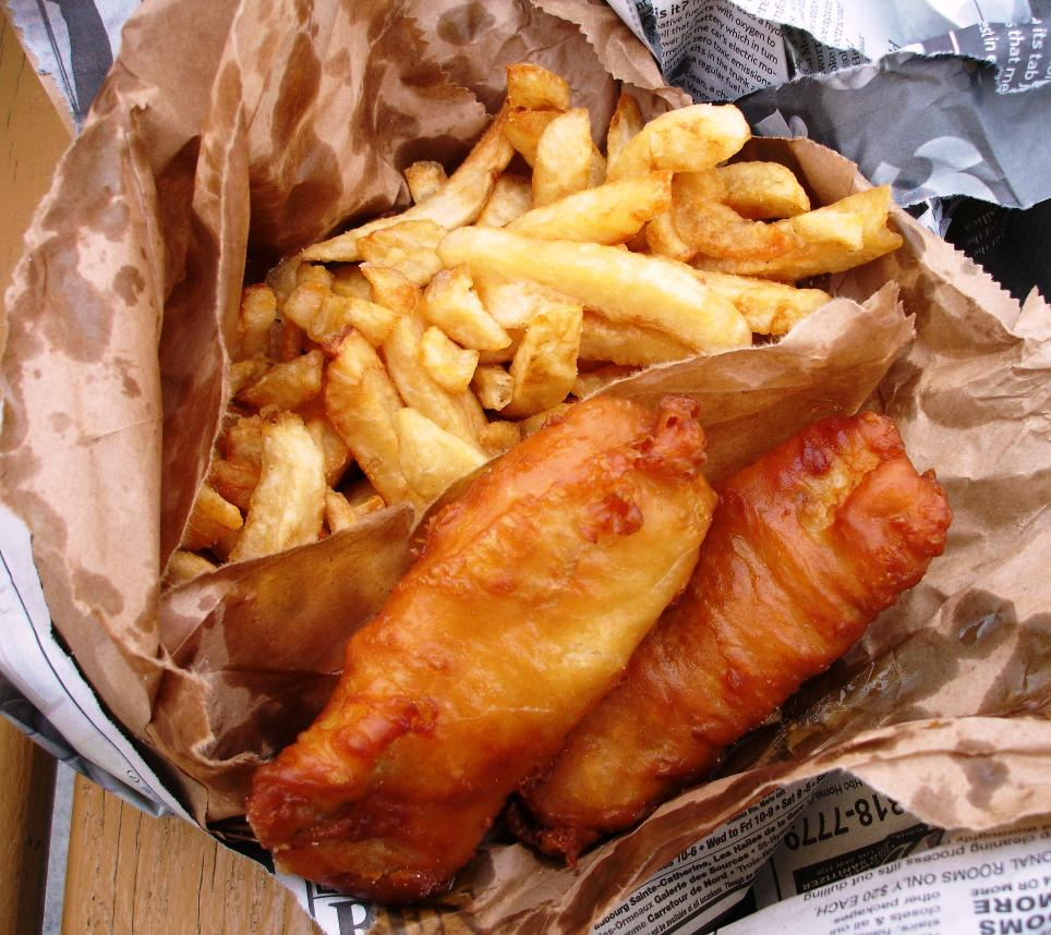 Scottish Fish and Chips Festival in Italy! |